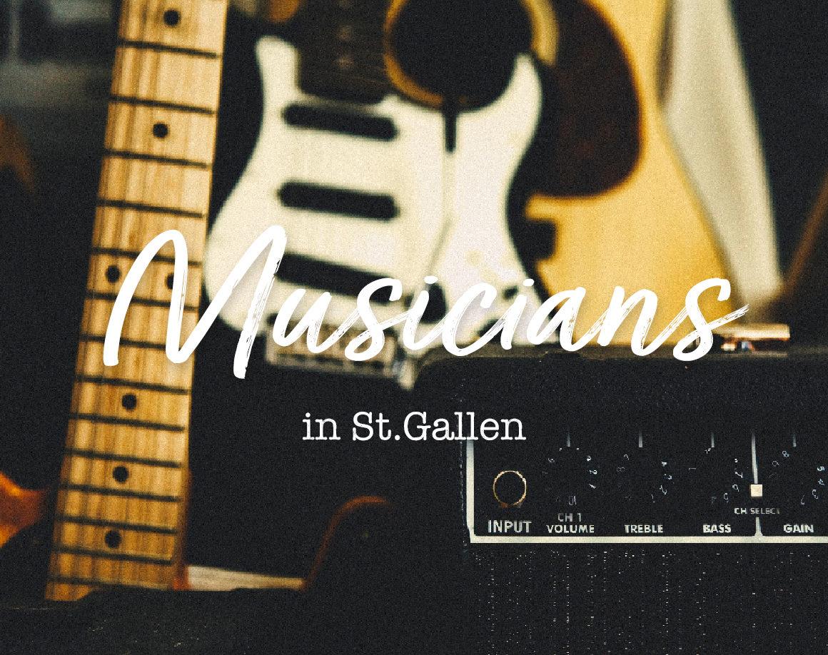Musicians in St.Gallen