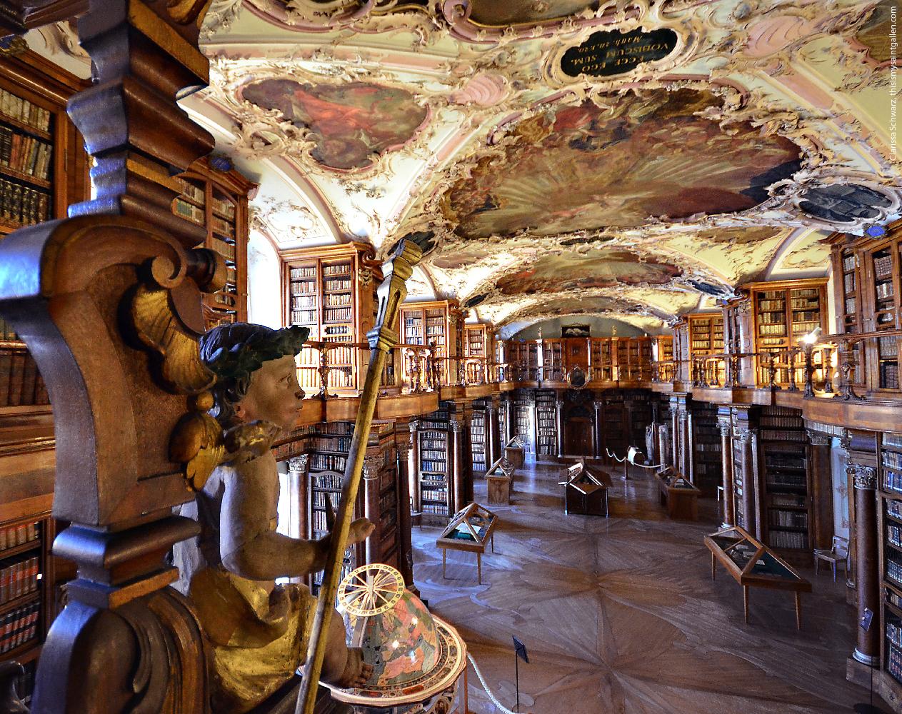 Abbey Library St.Gallen – This is my Saint Gallen