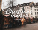 Christmas market in St.Gallen